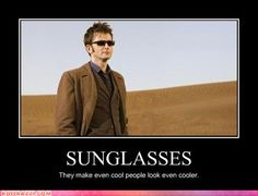 Dr Who sunglasses
