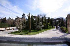 Bosque de Recuerdo, Buen Retiro, Madrid… To commemorate those who died in the 2004 Madrid train bombings.
