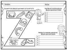 Colorea encuentra y escribe con las letras del abecedario escritura creativa y atención -Orientacion Andujar Abc For Kids, Worksheets, Spanish, Therapy, Classroom, Printables, Writing, Education, Math