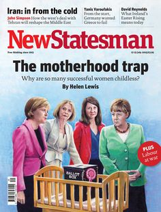 A British magazine ignited outrage with this cover about powerful, childless women