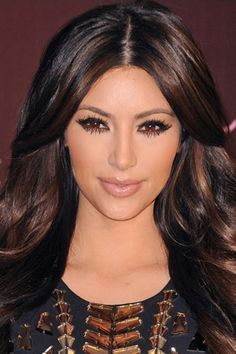 @Ashly Black I like these too...they're subtle. Dark Brown Hair With Highlights