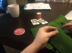 New buttons make a thrift store vest seem brand new :: adoramae.com