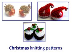 Christmas Knitting Patterns fit a Ferrero Rocher chocolate | Knitwit | Christmas knitting ...