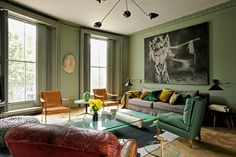 Victorian house inCentral London - perfect proportion