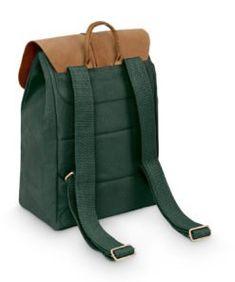 SOLSTICE pine | Fitz & Huxley Fitz Huxley, Unisex, Pine, Backpacks, Bags, Fashion, Minimalist Design, Leather, Pine Tree