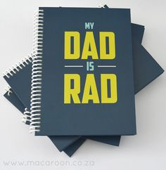 Personalised Note Journals for Dad