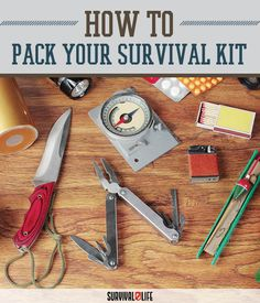 what to include in your survival kit
