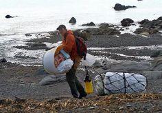 Alaska shoreline cleanup targets tons of debris set adrift by Japan tsunami | Alaska Dispatch News