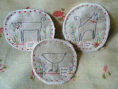 My new brooch designs