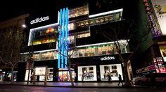 Boutique Adidas de Shanghai en Chine #adidas #store #sportswear