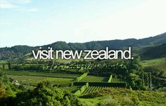 Visit New Zealand #bucketlist