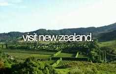 Visit New Zealand #bucketlist