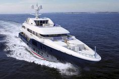 Sycara V Yacht is a World Superyacht Award winning Coming in at an impressive she can accommodate you and up to 13 others in her spectacular cabins, with spectacular views. She is listed for sale with Edmiston Luxury Yachts For Sale, Yacht For Sale, Luxury Boats, Yacht World, Yacht Boat, Super Yachts, Motor Yacht, Speed Boats, Jet Ski