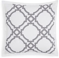 Hudson Park Collection Trellis Euro Sham - 100% Exclusive