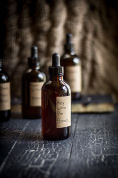 The final step to making your own Bitters. Perfect holiday, groomsmen, or bridesmaid gifts!