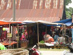 Market in front of my home