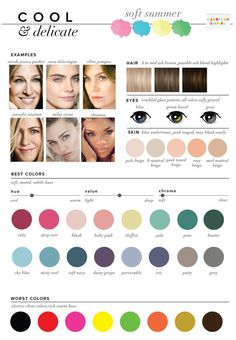 Find out how to pick your best and worst colors. Crucial information for a capsule wardrobe.  Do you have neutral undertones? Do you have gray in your eyes? Find out how all your features work together to create your unique complexion.