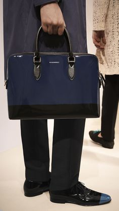 e969f176d4b7 The Barrow in Patent Leather  One of my favourite runway accessories from  the Prorsum Menswear