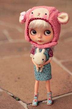 little pink sheep ♥ by Nina =^^=, via Flickr