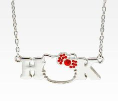 Hellokitty face necklace