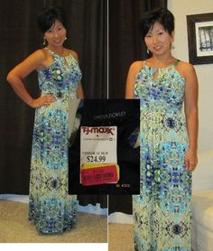 Tara scored this Cynthia Rowley dress on clearance for $3, compare at $24.99! #maxxinista #dress #fashion
