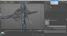https://vimeo.com/channels/c4dsilenttips - https://twitter.com/Munkstudios  This tip uses: cloth, x-particles, trails, generator  Here is an example of one of…