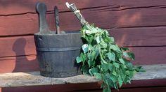 Sweet home : Erinevad saunavihad ehk milleks mingi viht hea on. Sauna Shower, Traditional Saunas, Finnish Sauna, Summer Feeling, Barware, Planter Pots, Sweet Home, Herbs, Lifestyle
