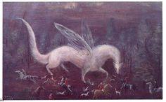 Leonora Carrington - The Ermine Hunt (960х596)