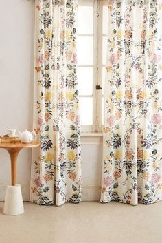 Anthropologie Kalei Curtain #curtains #anthropologie