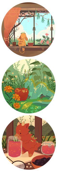 Tea Dragon Society by strangelykatie.deviantart.com on @DeviantArt