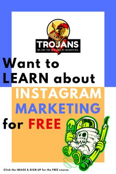 If yes then please click the IMAGE & SIGN-UP for the FREE course. Free Courses, Explore, Marketing, Signs, Learning, Image, Instagram, Shop Signs, Studying