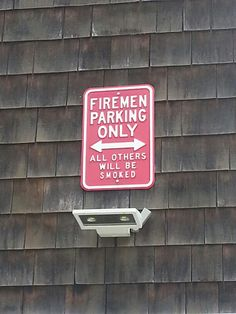 Firefighters. .. smokin