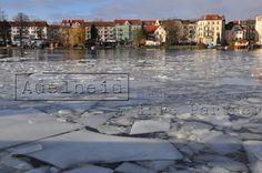 Berlin-Köpenick Blick über die Dahme/ Spree Mündung 2