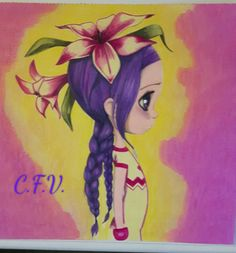 Coloriage wild 2 Emmanuelle Colin