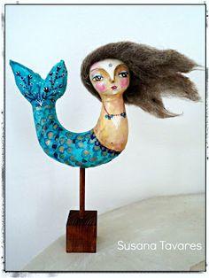 Atelier Susana Tavares: Mermaid art doll