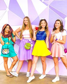 Costumes DIY Disney Princesses group disneybound Keeping The Weeds Out - A Must! Disney Group Costumes, Disney Princess Halloween Costumes, Belle Halloween, Couple Halloween Costumes, Disney Costumes For Adults, Adult Princess Costume, Disney Princess Dresses, Disney Princesses, Cute Disney Outfits