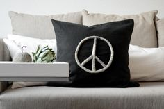 DIY | Peace aus Wollresten