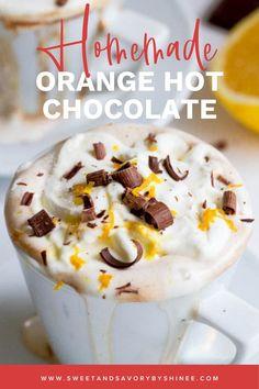 Hot Chocolate Recipes, Chocolate Bars, Chocolate Orange, Best Chocolate, Chocolate Desserts, Sangria Recipes, Wine Recipes, Dessert Recipes, Fall Drinks