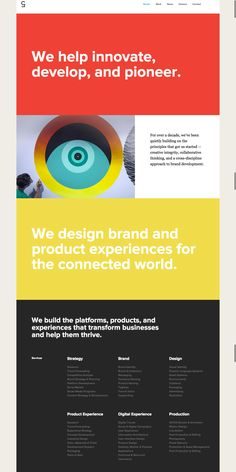 50 Unique and Engaging About Us Pages to Inspire You – Design School Resume Design, Brand Identity Design, Branding Design, Web Layout, Layout Design, About Us Page Design, Web Grid, Sainte Chapelle Paris, Unique Logo