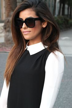 black and white, lookbook, store, fashion, celine, sunglasses, zara, studs, heels, classy style, outfit ideas, chic, affordable finds, outfit of the day, street style, streetwear, los angeles, blogger, sazan, all black, trends, hair, natural, bcbg, makeup,spring 2014