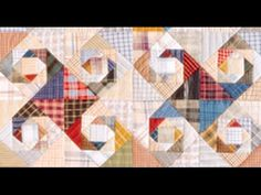 How to Make Snail Trail Quilt - Classic and Vintage Quilting Tips, Quilting Tutorials, Quilting Projects, Storm At Sea Quilt, Plaid Quilt, Wilmington Prints, Quilt Patterns Free, Toot, Square Quilt