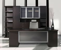 executive office furniture set design ideas with modern desk set