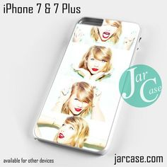 Taylor Swift Making Face Collage Phone case for iPhone 7 and 7 Plus