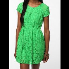 Urban Outfitters Coincidence & Chance Lace Dress Worn once, great condition. Urban Outfitters Dresses