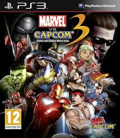 Marvel vs Capcom Fate of Two Worlds Xbox 360 Game Marvel Vs, Avengers Comics, Avengers Characters, Spiderman Marvel, Pokemon Go, Wii, Videogames, Two Worlds, Comic Anime