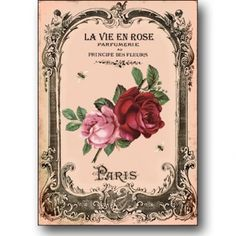 Check out the La Vie En Rose series on Lish