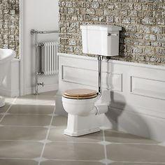White-Traditional-Ceramic-Toilet-Cistern-Bathroom-Low-High-Level-Luxury-Pan