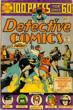 Detective #443 - Manhunter (Paul Kirk) teams up with Batman