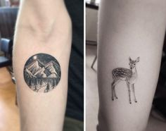 Geometric Tattoos By Dr. Woo Who's Been Experimenting With Ink Since He Was 13 | The Doctor describes his technique as fine line black and grey.