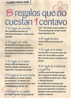 8 regalos #amor